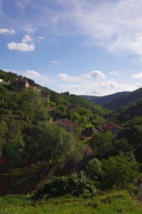 Village, Labastide Esparbairenque, France