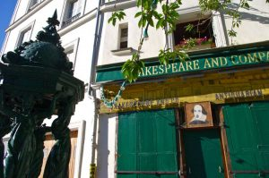 Shakespeare & Co bookstore, Paris, France