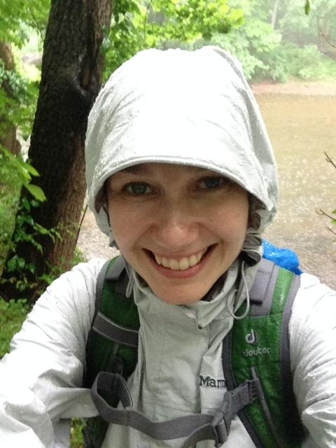 rain jacket, Camino de Santiago