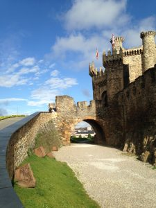 castle in ponferrada