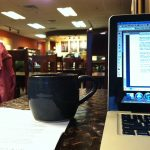 cafe writing