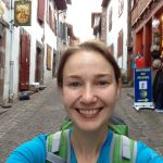 Selfie, Day One, Camino de Santiago