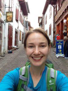Selfie, Day One, Camino de Santiago
