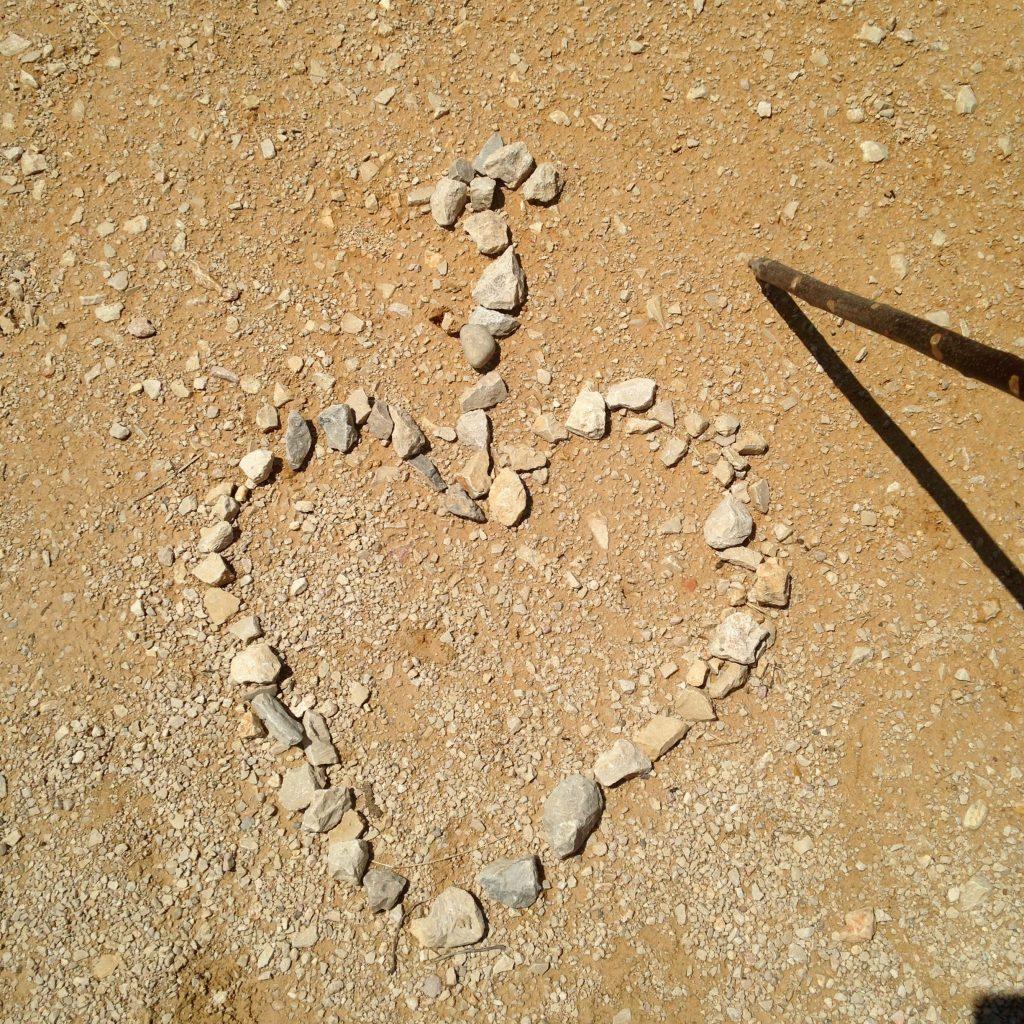Heart of Stones, Camino de Santiago