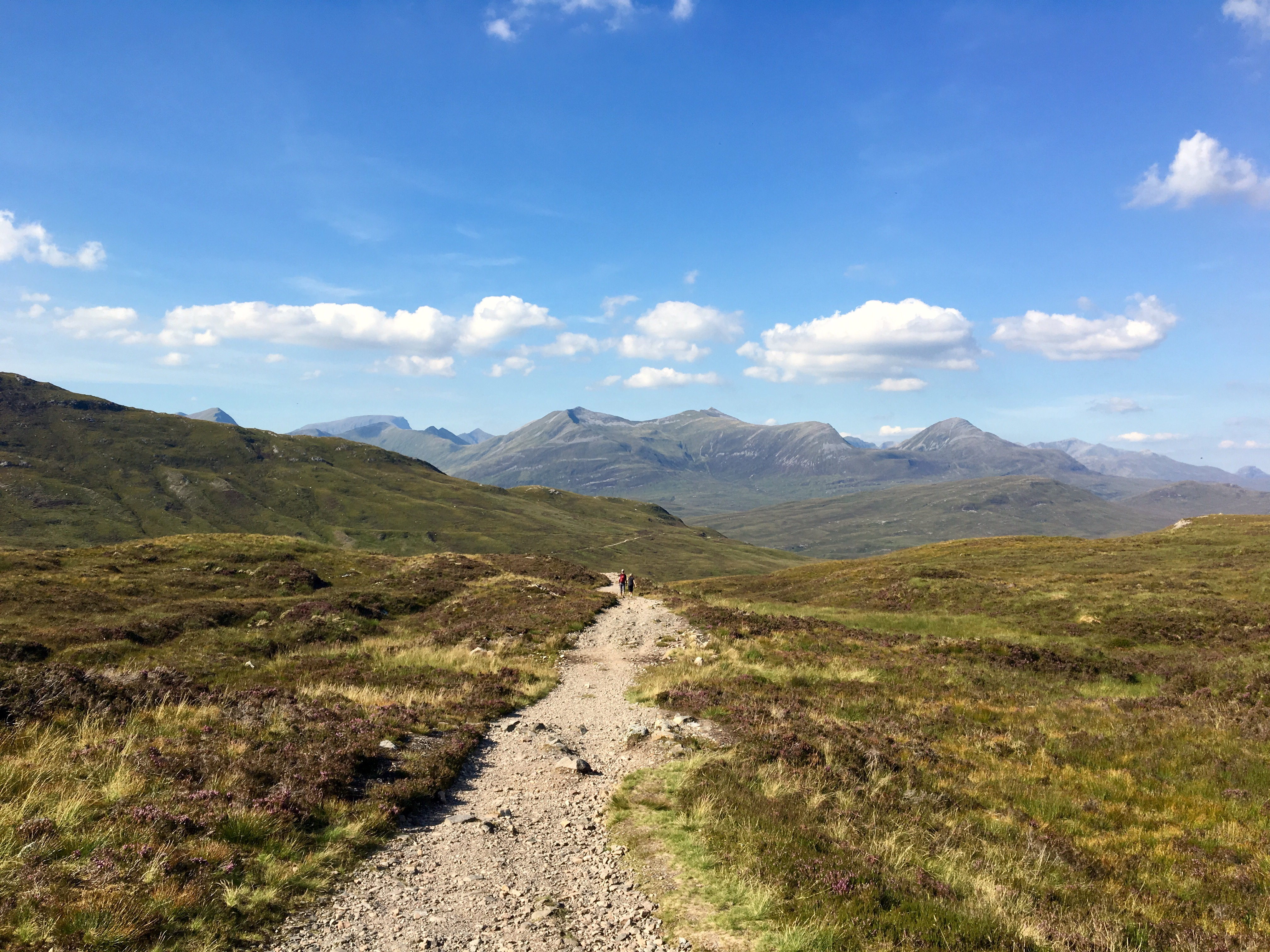 Descending to Kinlochleven, West Highland Way, Scotland
