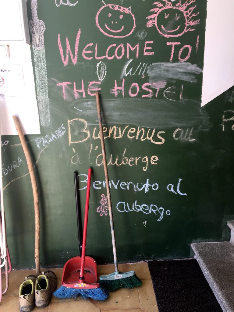 Welcome to the Albergue, Camino de San Salvador