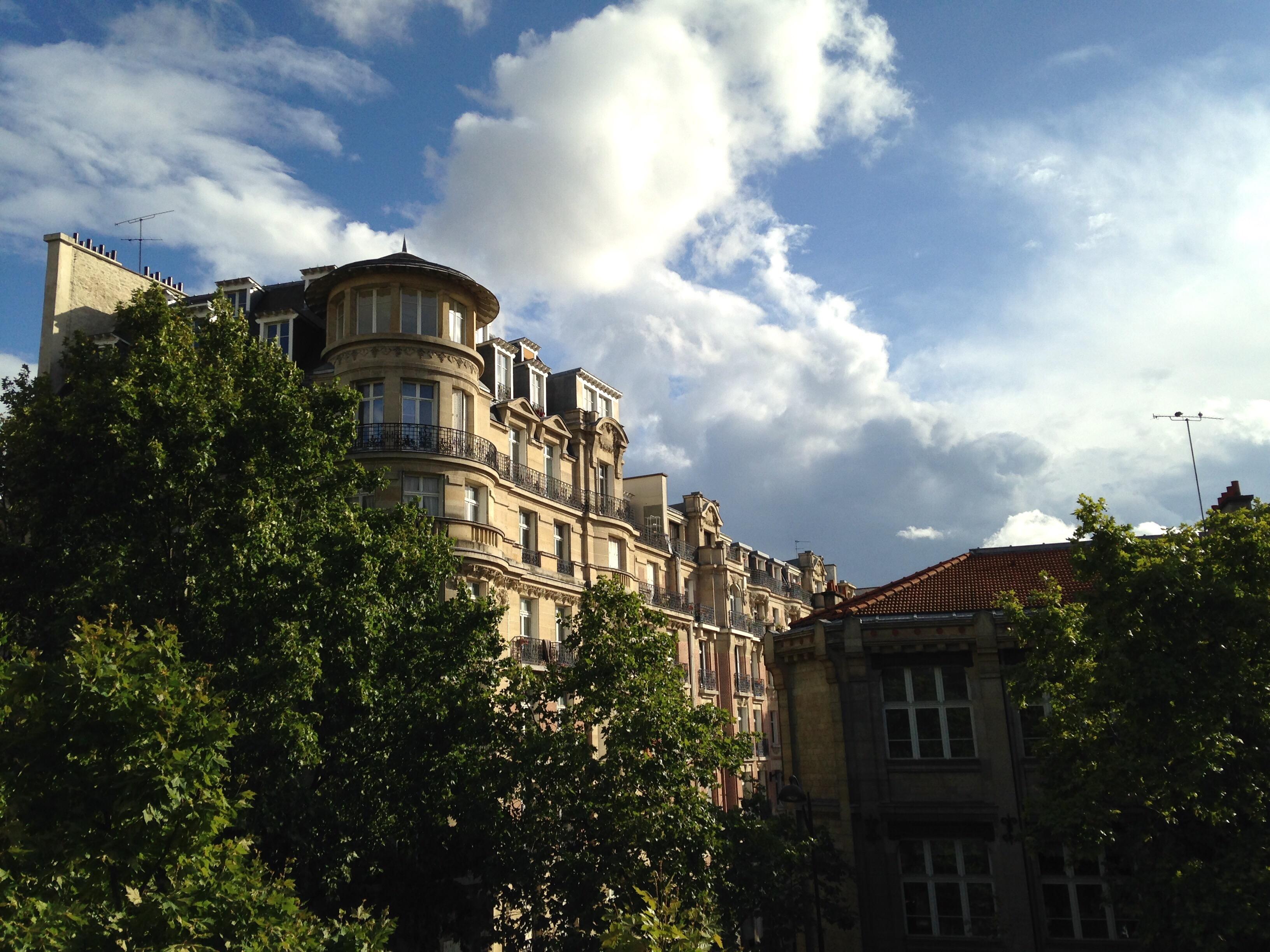 Buildings, Paris, France