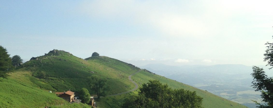 Pyrenees on the Camino Frances