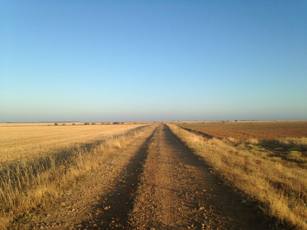 The Meseta, Camino Frances