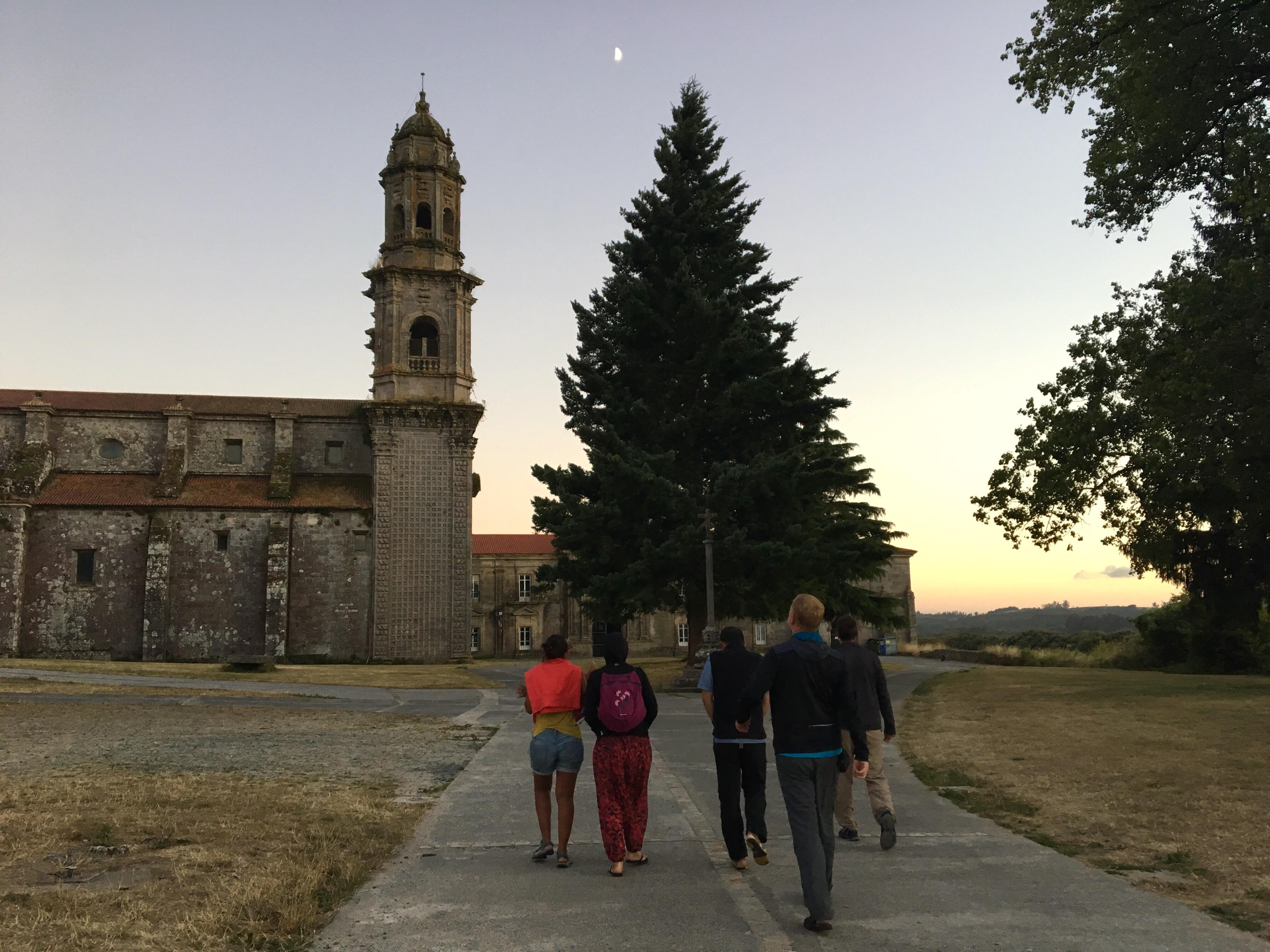 Monastery, Sobrado dos Monxes, Camino del Norte
