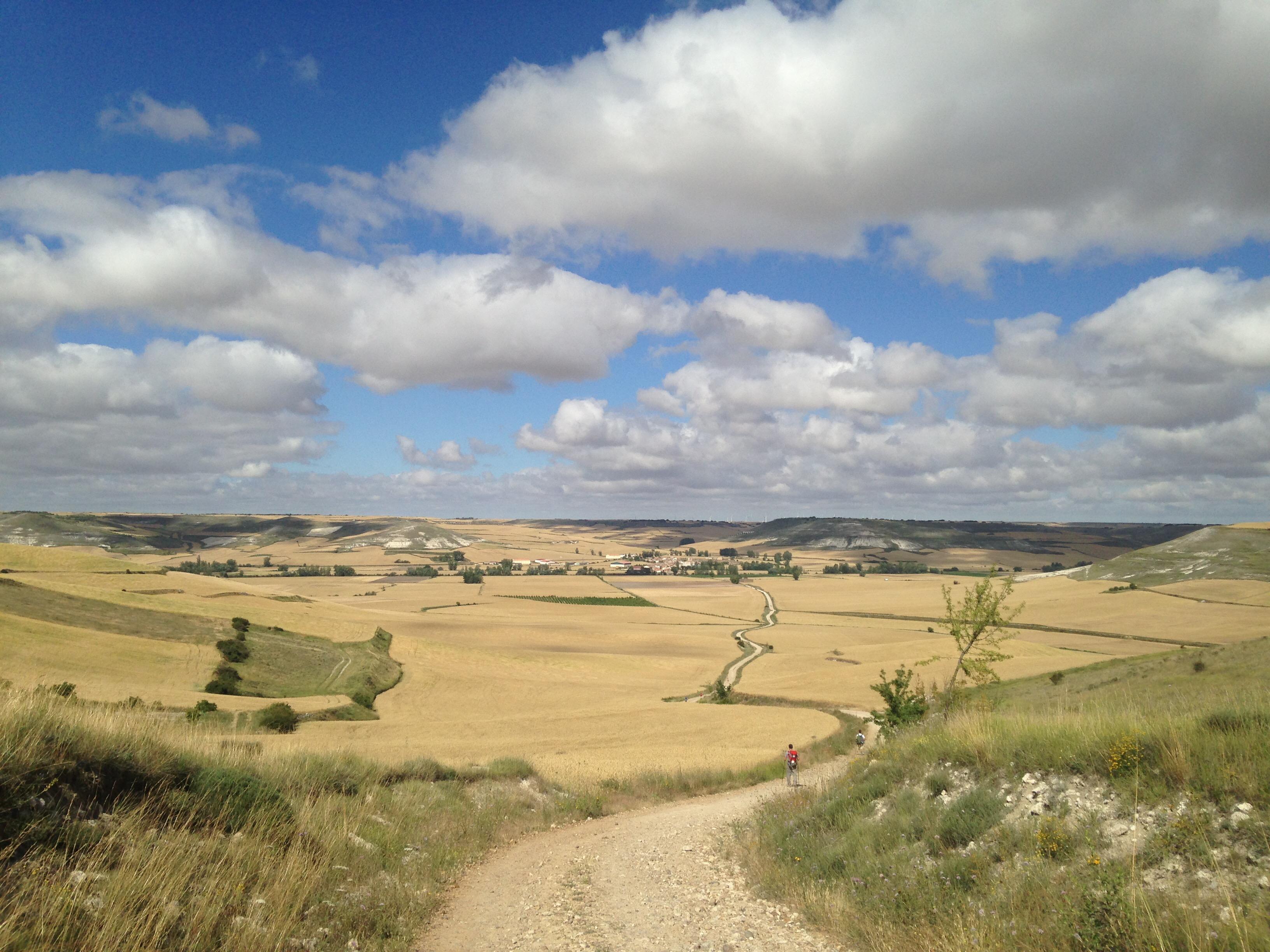 Path to Hontonas, Camino de Santiago