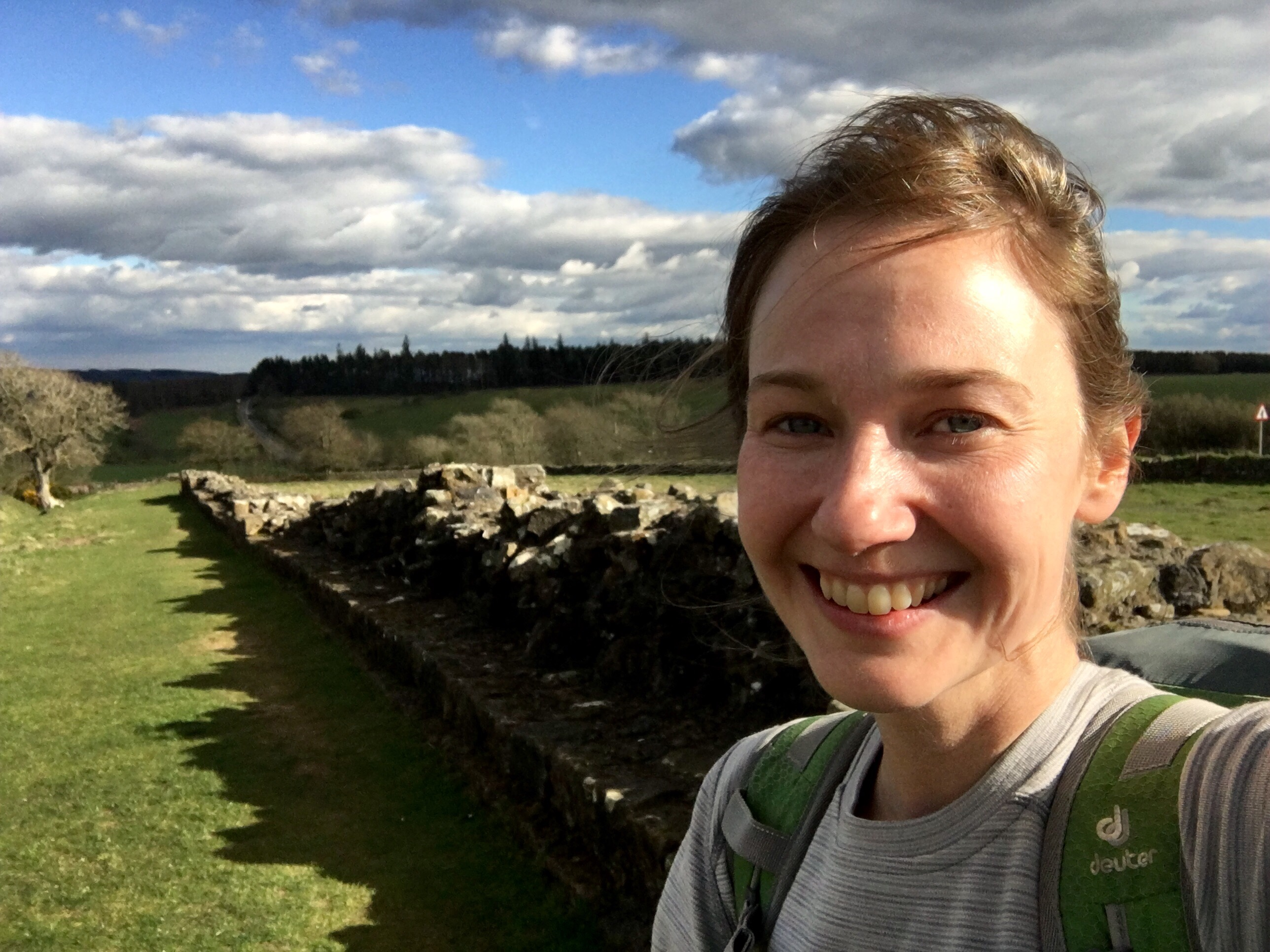 Selfie at the Wall, Hadrian's Wall