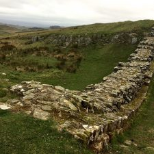 Hold Onto Your Hat!; Day 3 on Hadrian's Wall, Grindon to Gilsland (15 miles/24km)