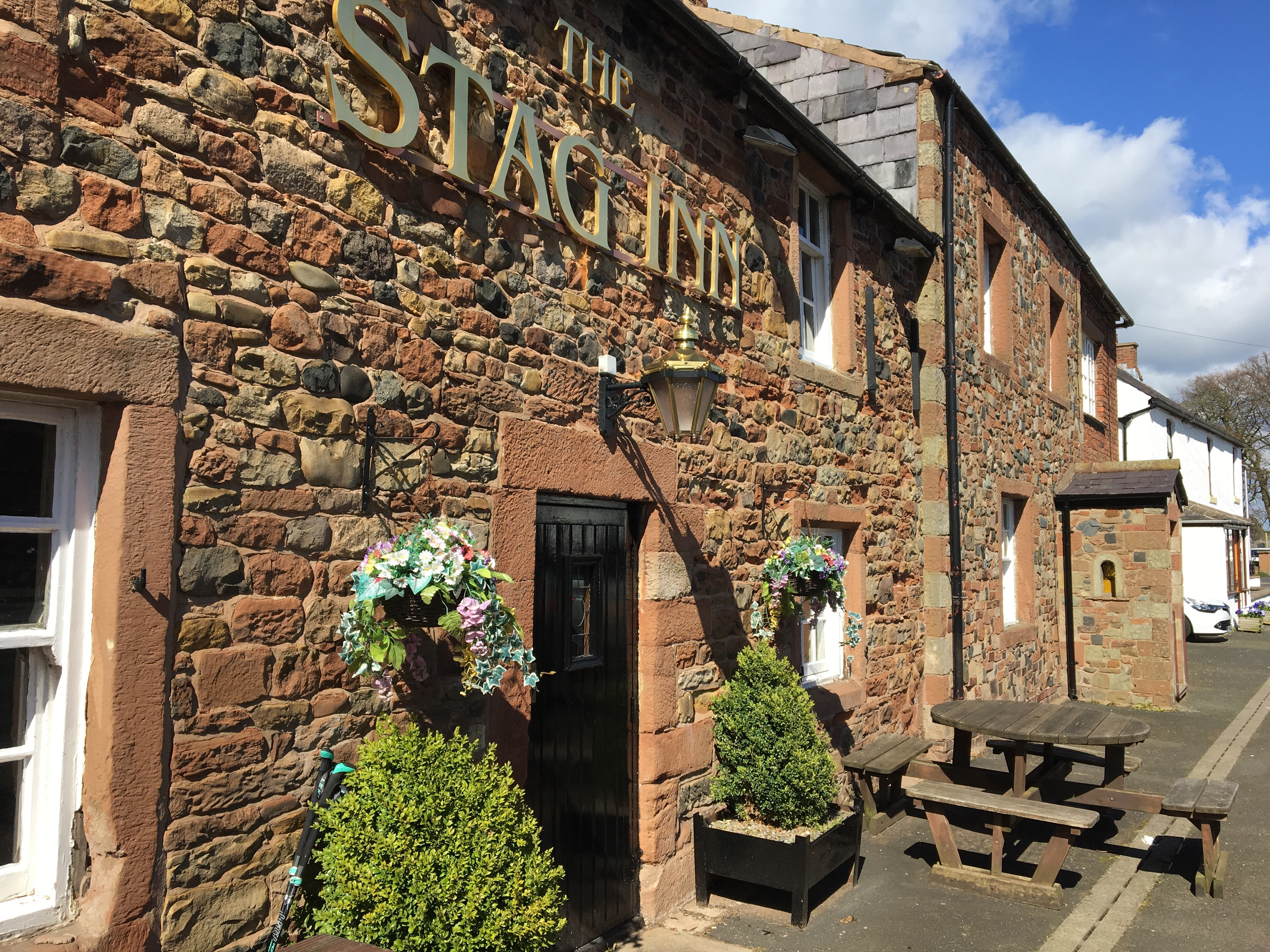 The Stag Inn, Hadrian's Wall