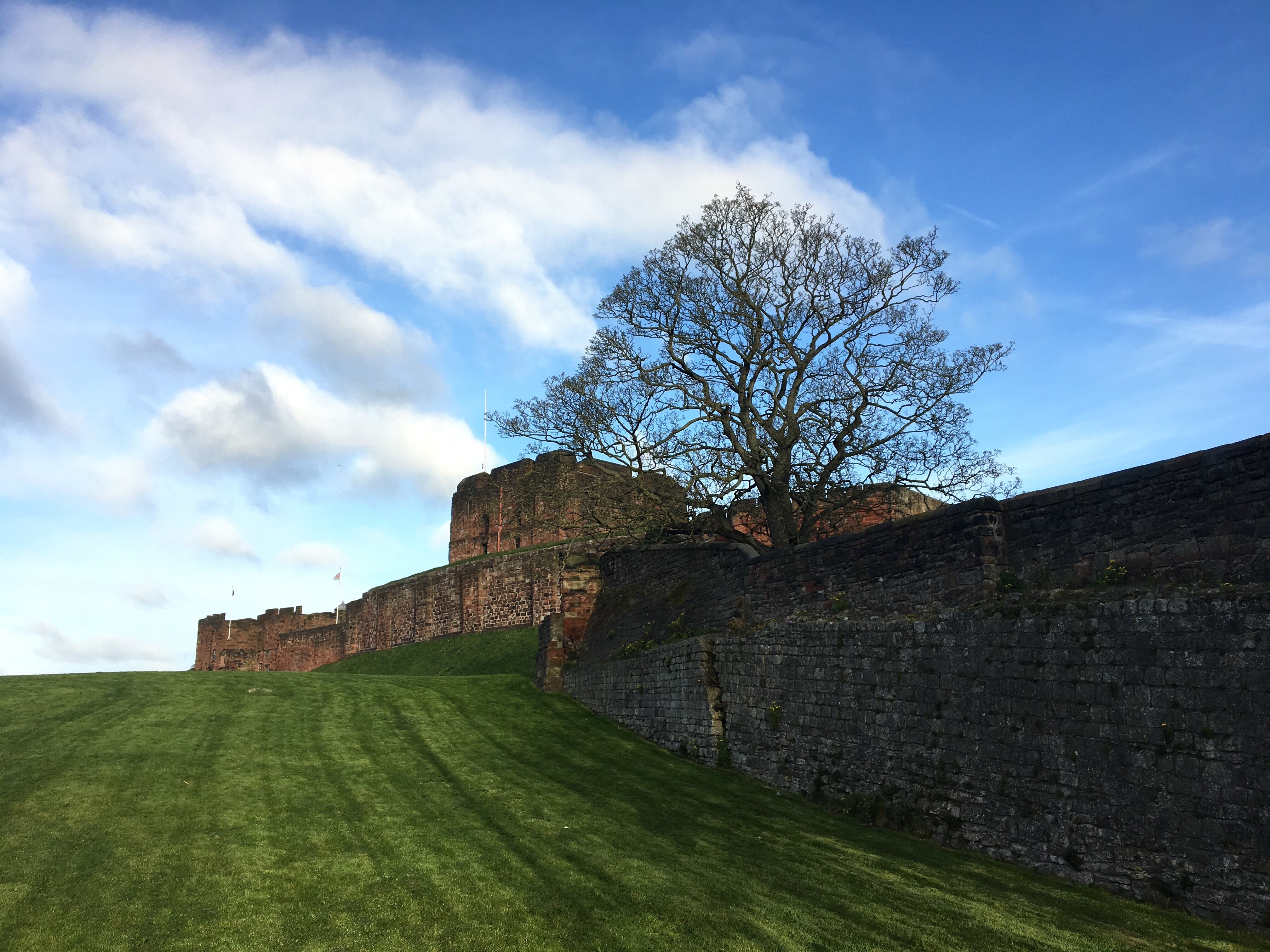 Carlisle Castle, Hadrian's Wall Path