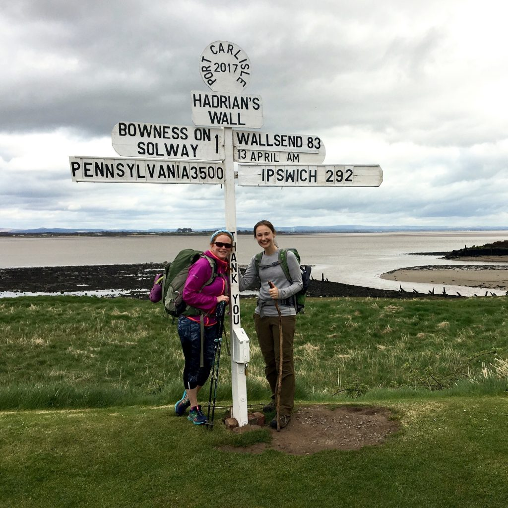 Port Carlisle, end of Hadrian's Wall Way
