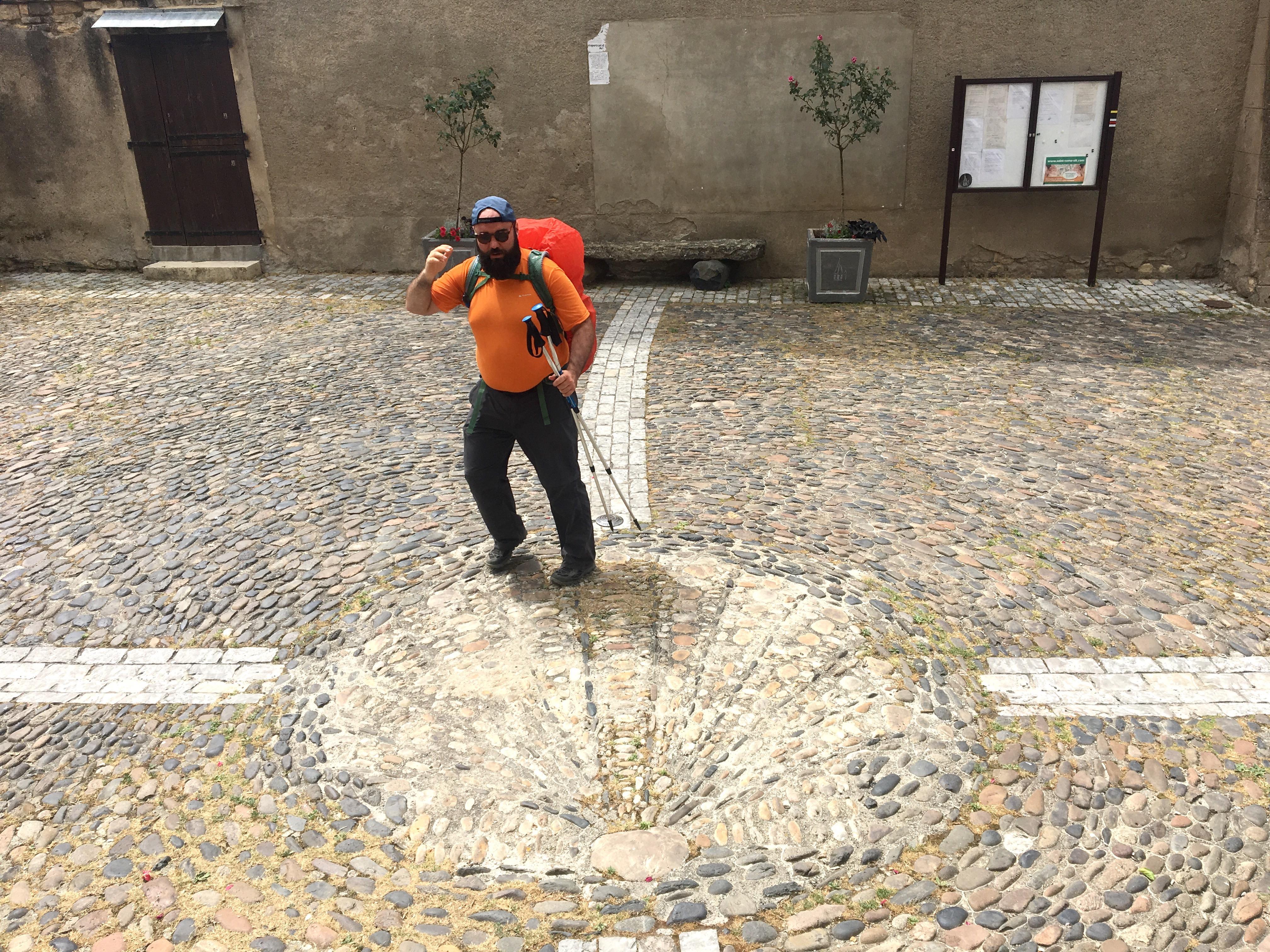 Mario in St-Come d'Olt; Chemin du Puy