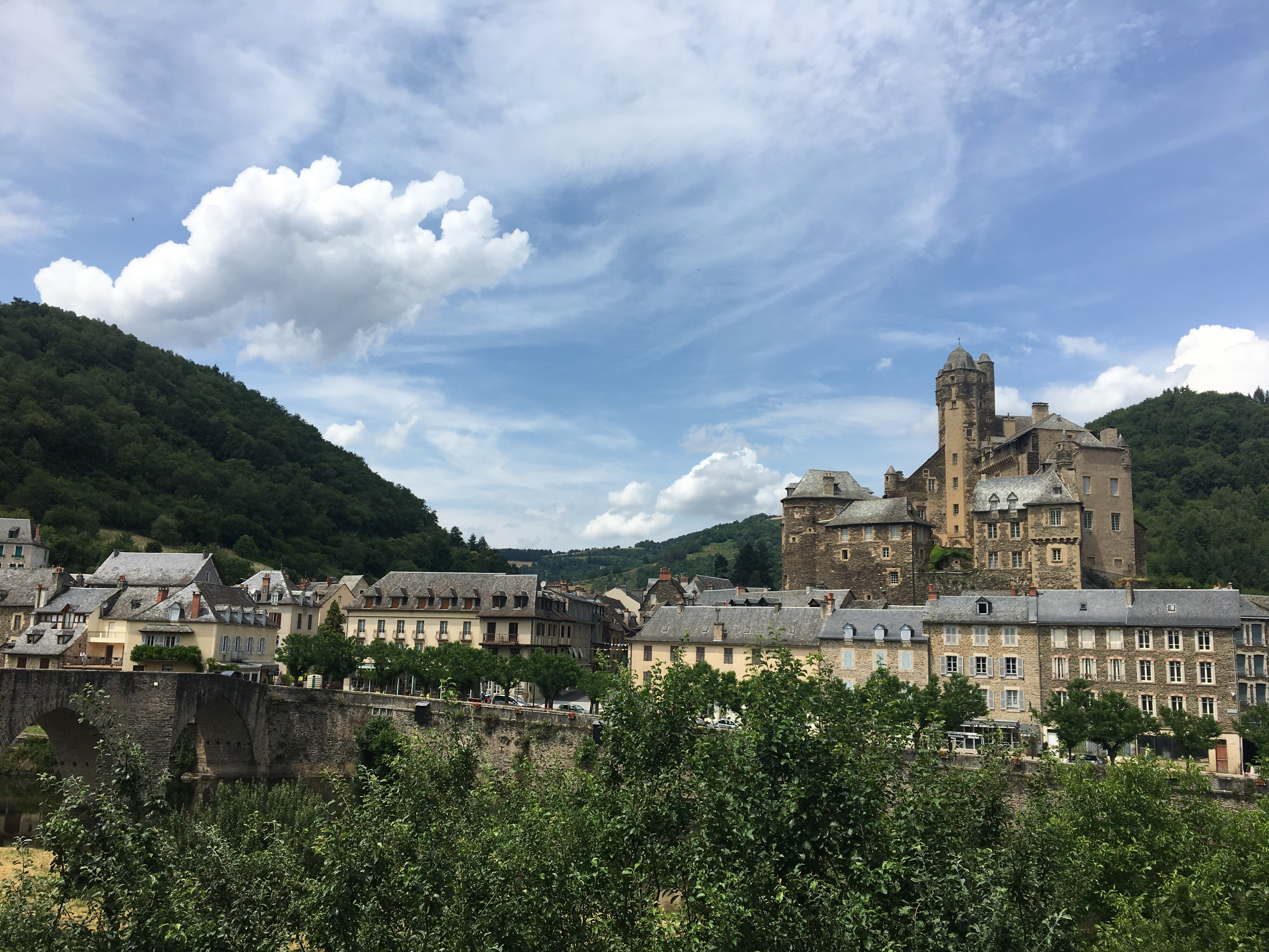 Estaing, Chemin du Puy
