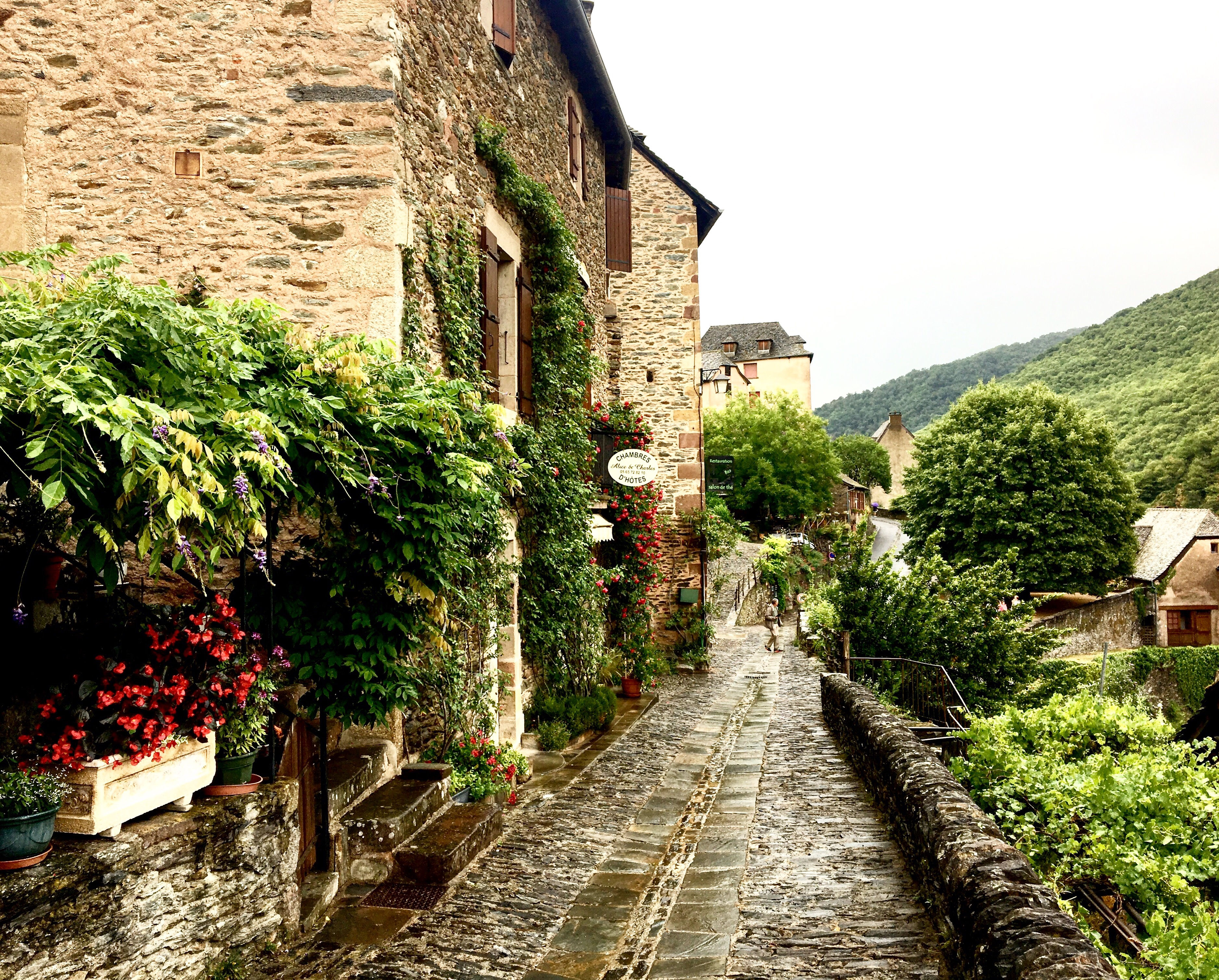 Village of Conques, Chemin du Puy