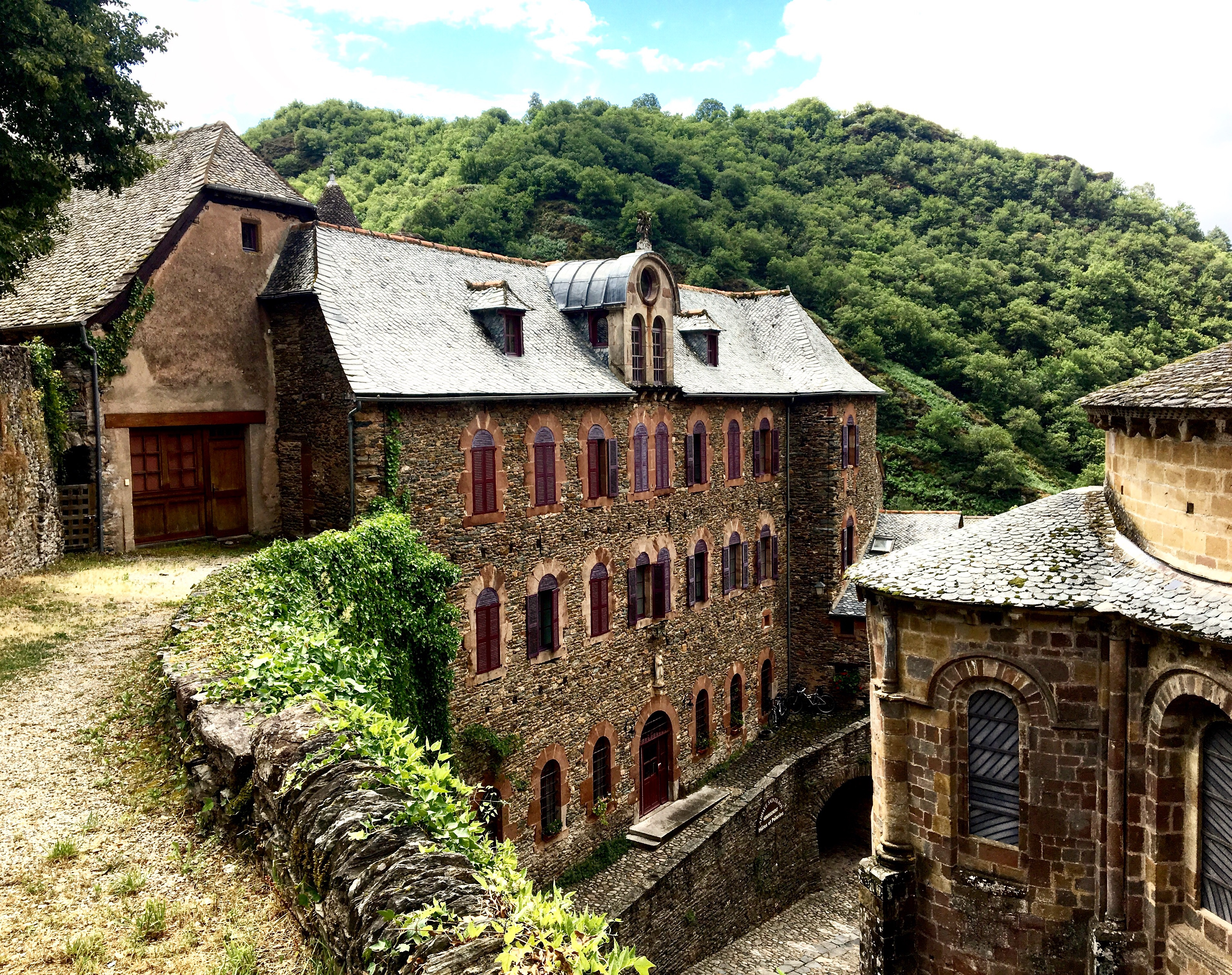 Abbaye of Church of Sainte Foy, Conques, Chemin du Puy