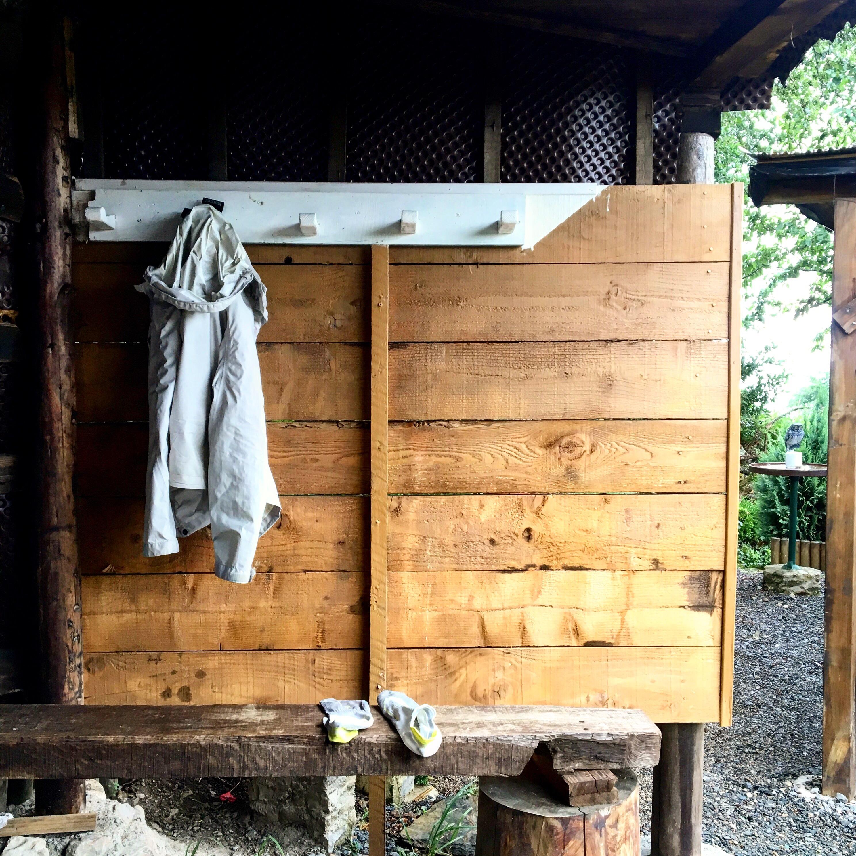 Rain coat, Chemin du Puy