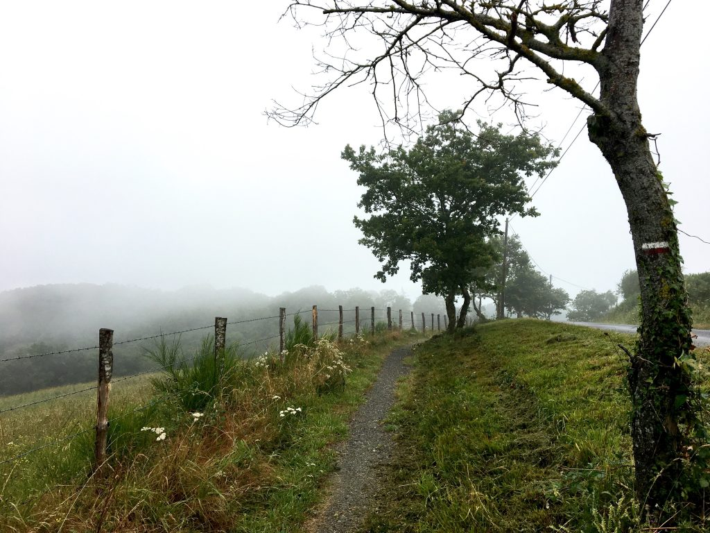 Another rainy day on the Chemin du Puy