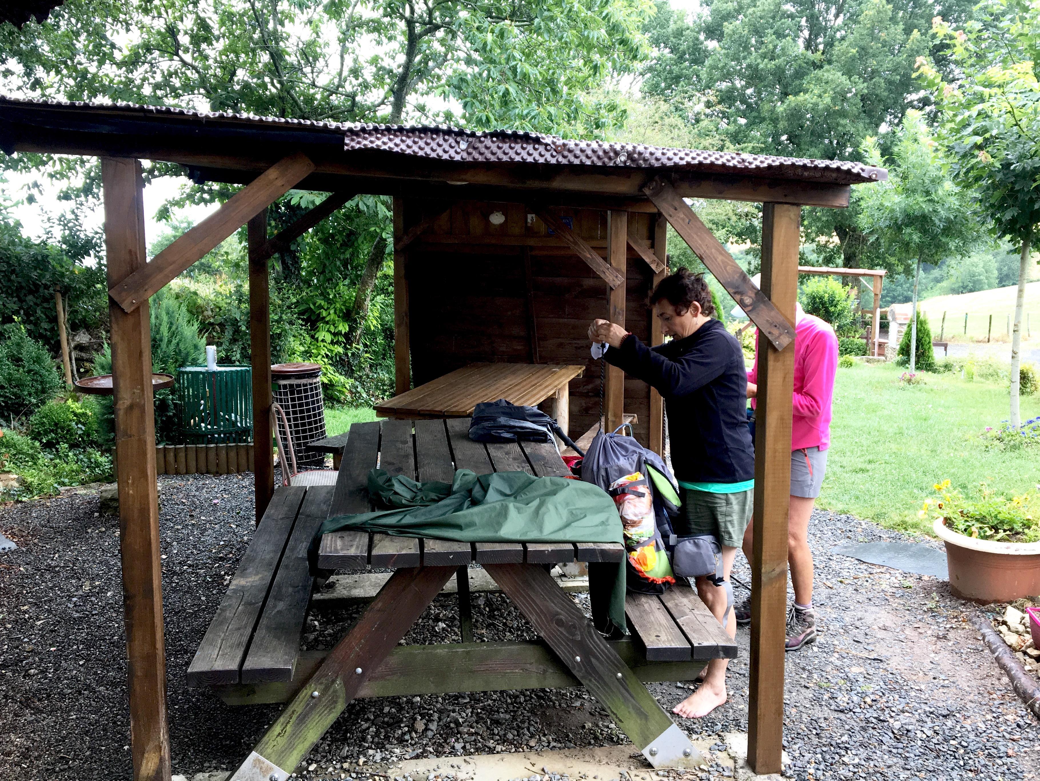 Pilgrim shelter, Chemin du Puy