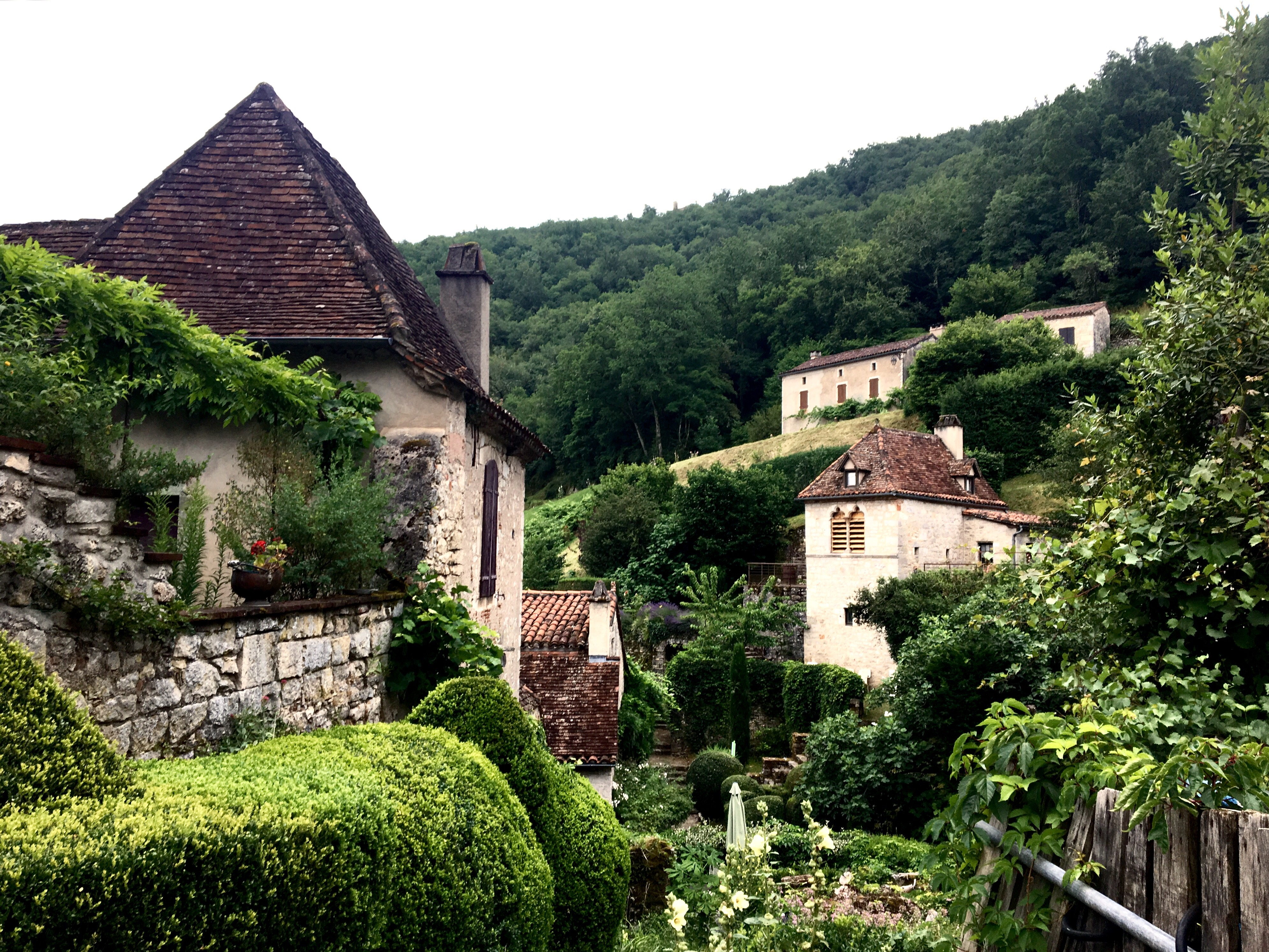 Village of Saint-Cirq-Lapopie, France