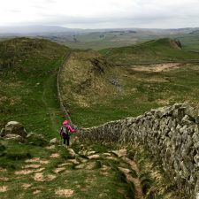Planning a Walk on Hadrian's Wall Path