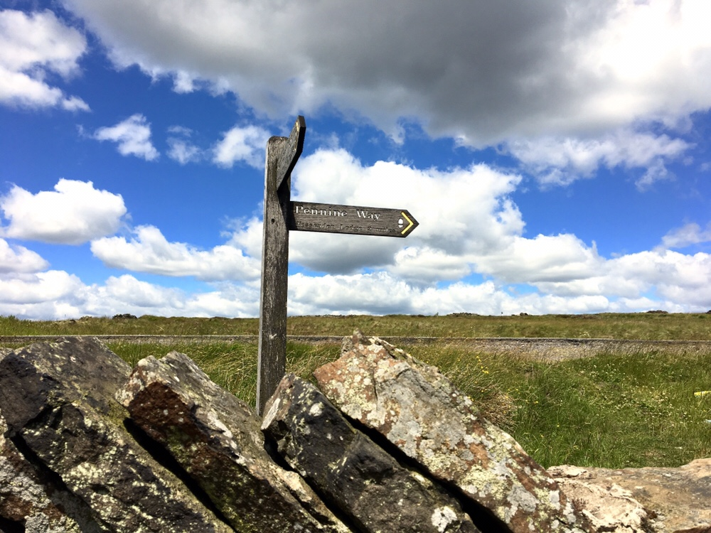 Signpost for the Pennine Way
