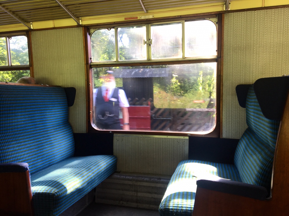 Train ride in Haworth, Pennine Way