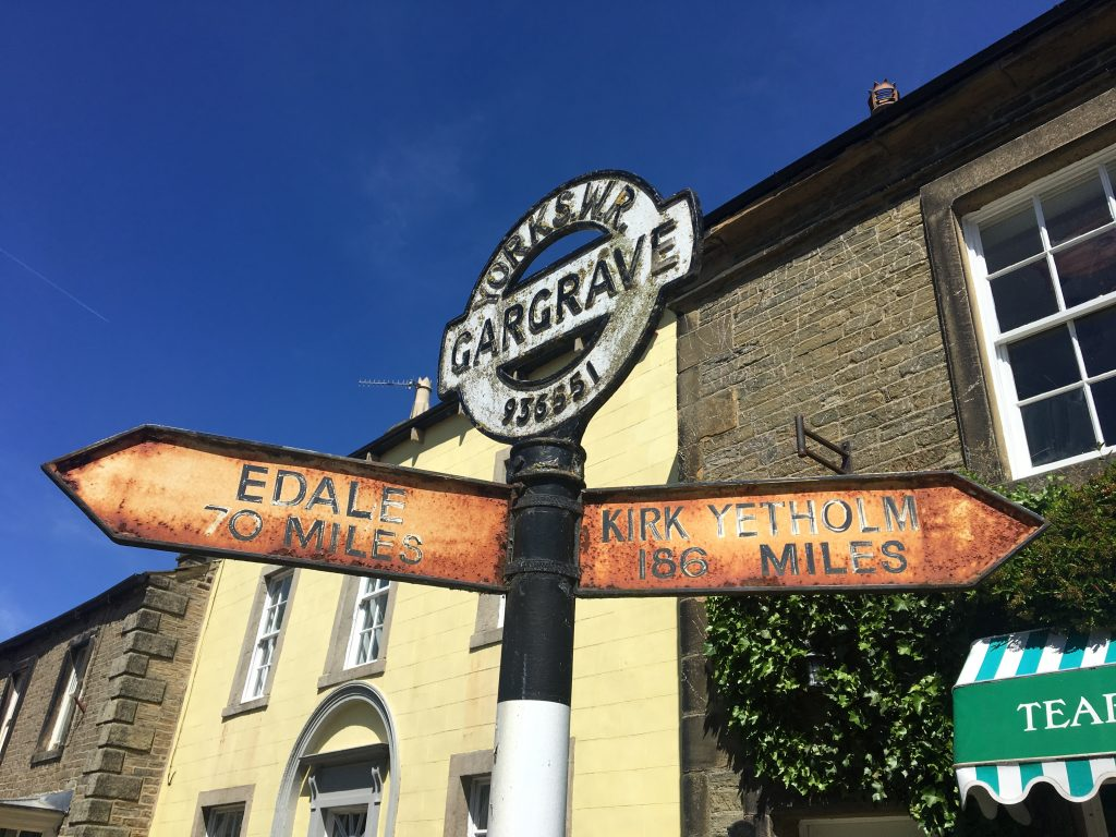 Village of Gargrave, Pennine Way