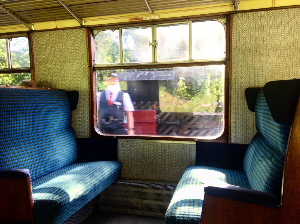 Steam train, Haworth