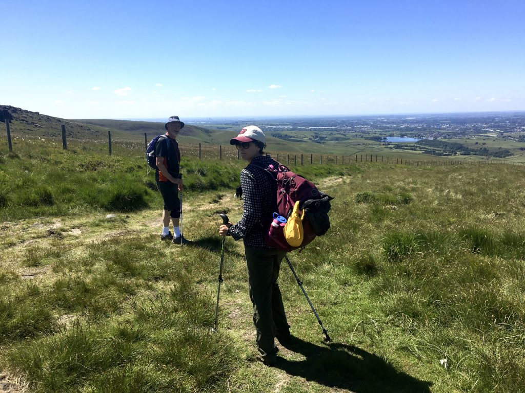 friends on the Pennine Way
