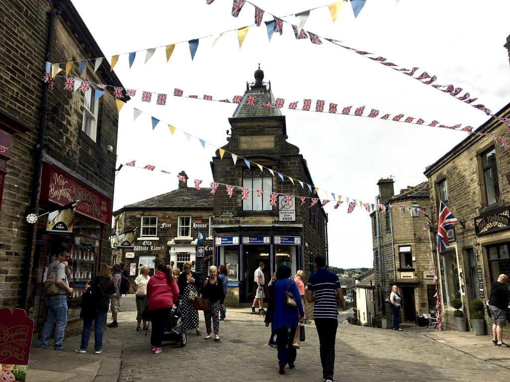 village of Haworth, England