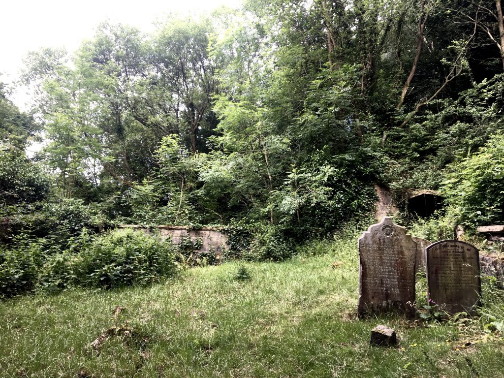 cemetery on the Pennine Way, out of Mytholm