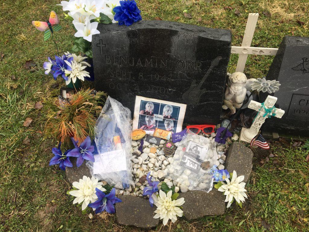 Ben Orr's gravesite, OH