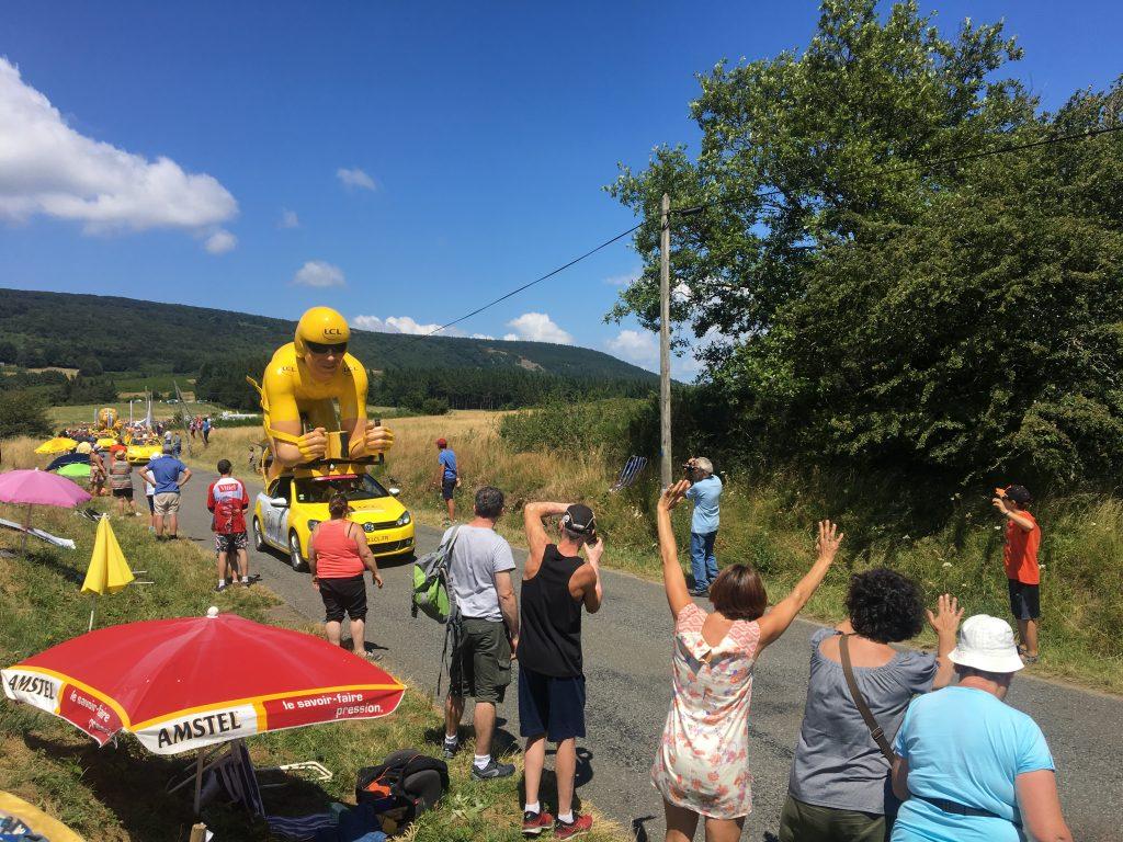 Tour de France caravan, 2018