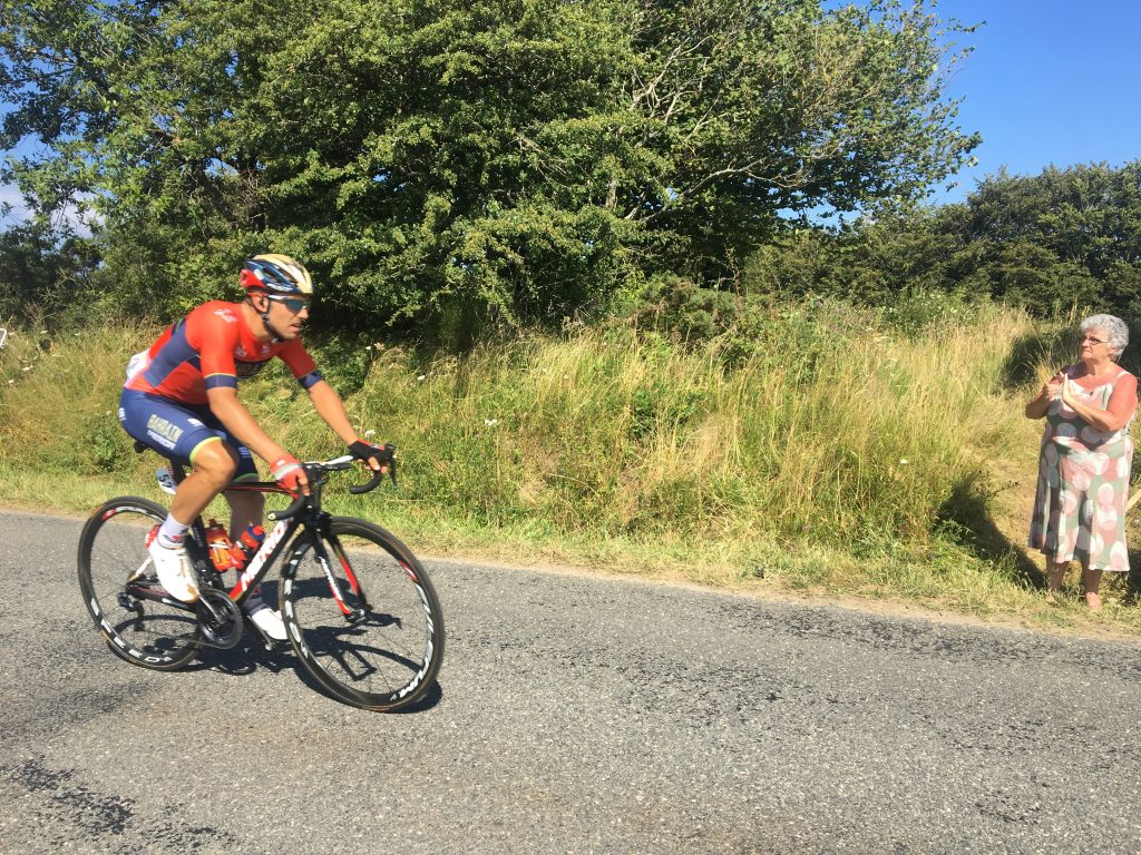 Tour de France cyclist, 2018