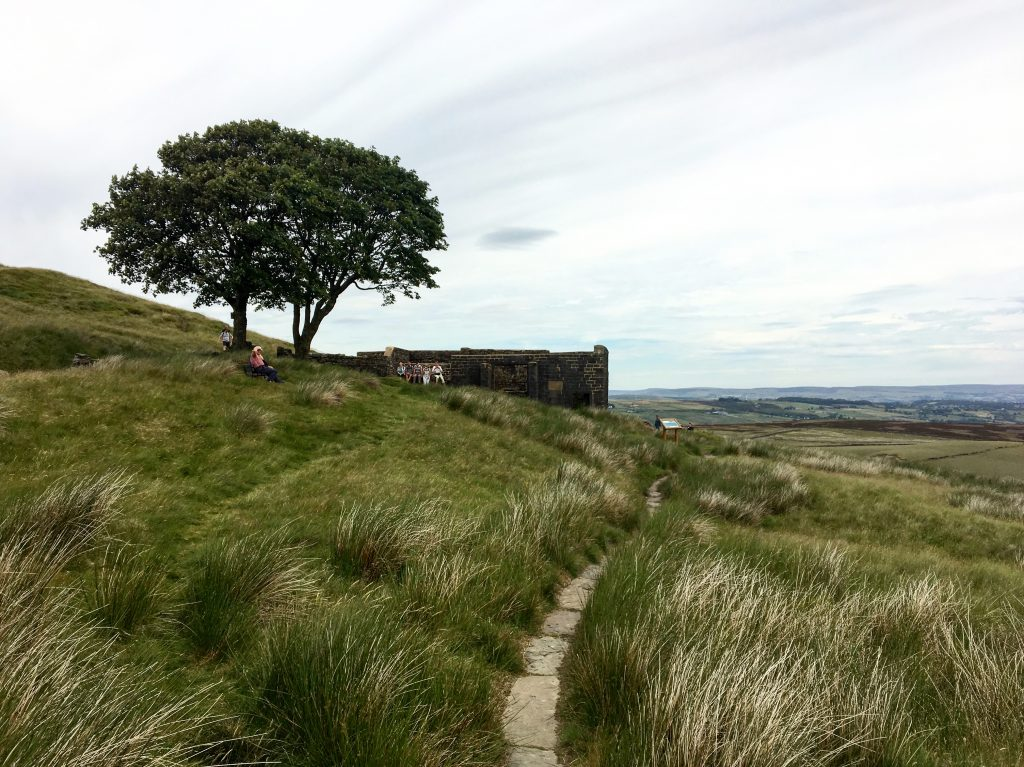 Top Withens, Wuthering Heights, Pennine Way