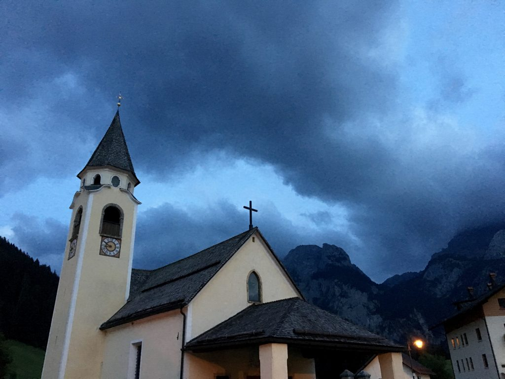 Evening in Sappada, Italy