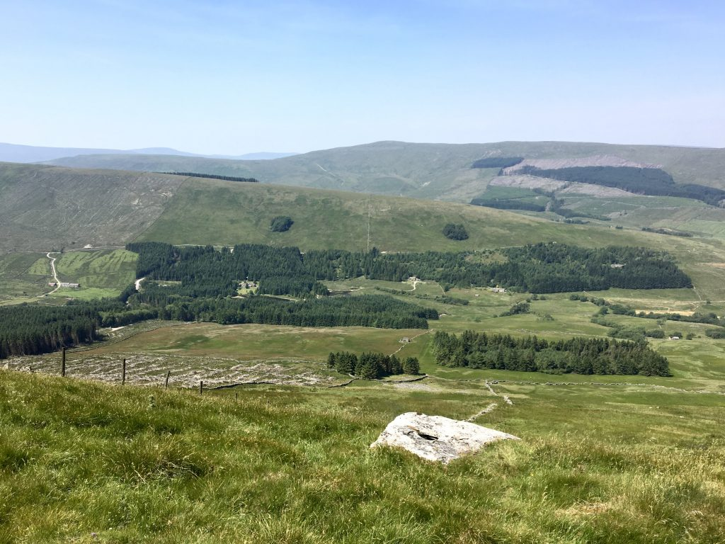 View of valley, Pennine Way