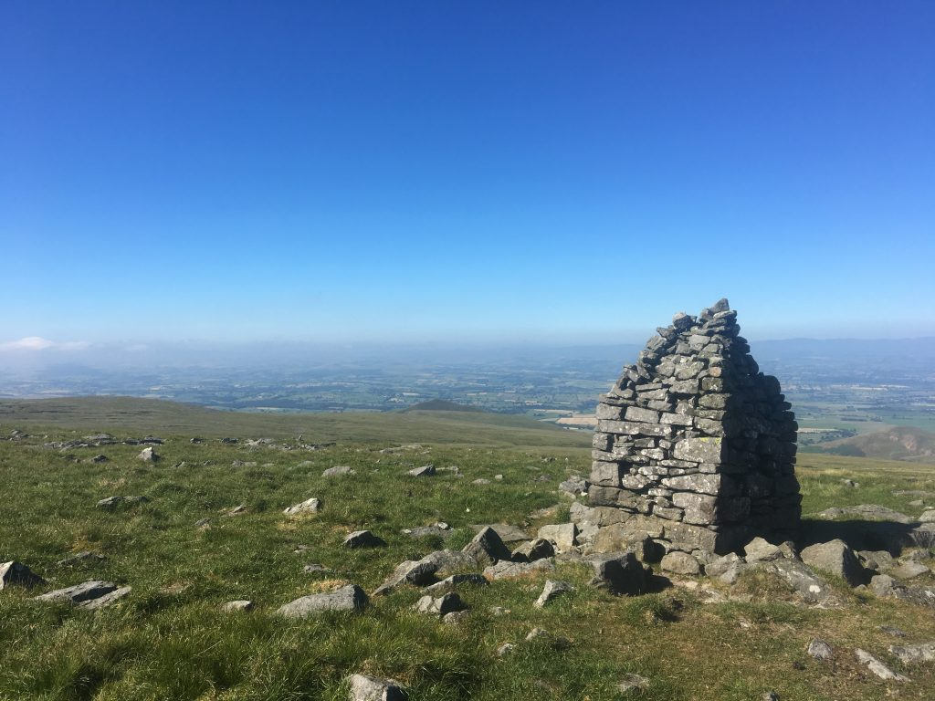 Summit of Knock Fell, Pennine Way
