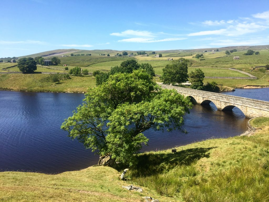 Blackton Reservoir, Pennine Way