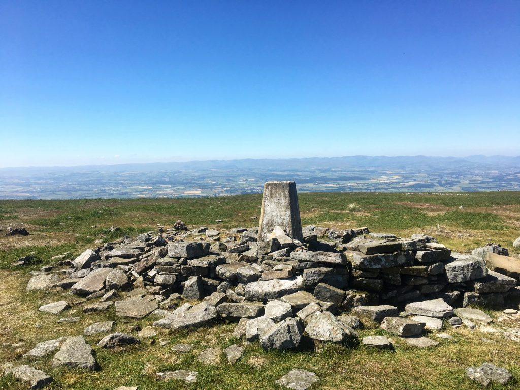 Summit of Cross Fell, Day 11 on the Pennine Way