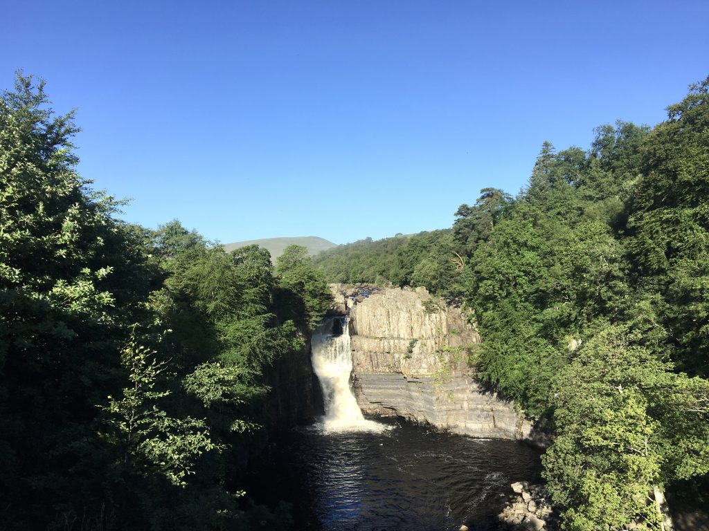 High Force, Pennine Way