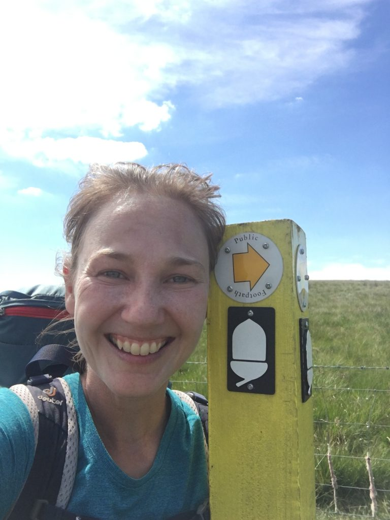 Found the Pennine Way signpost!