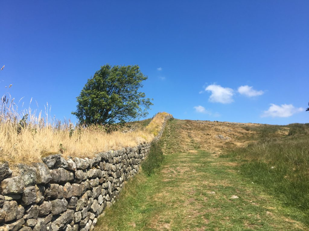 Stretch of Hadrian's Wall, Day 13 on the Pennine Way