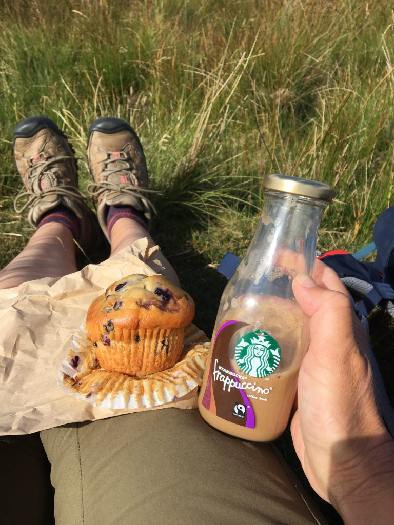 Second breakfast on the Pennine Way