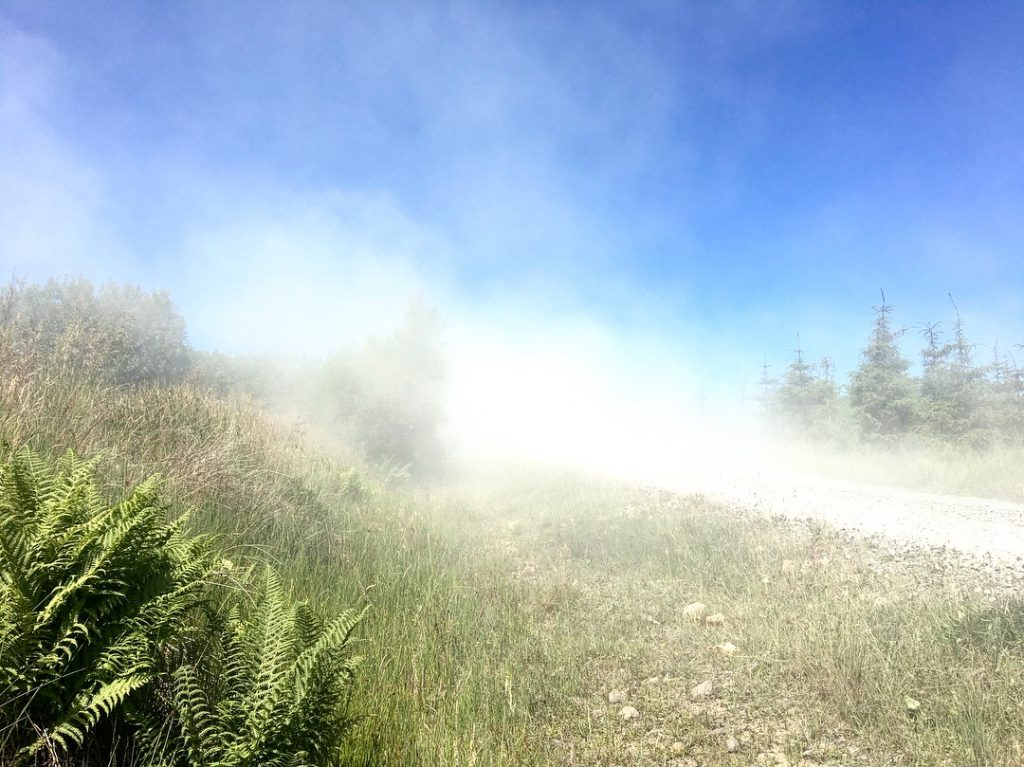 Dust from a speeding lorry, Day 14 on the Pennine Way